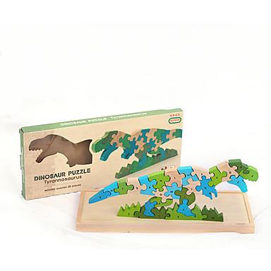 levne 3D puzzle-3D puzzle Puzzle Vzdělávací hračka Dinosaurus Dřevěný Dřevo Dětské Chlapecké Hračky Dárek