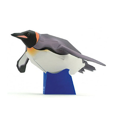 levne 3D puzzle-3D puzzle Papírové modely Modele Tučňák Udělej si sám lepenkový papír Klasické Dětské Unisex Chlapecké Hračky Dárek
