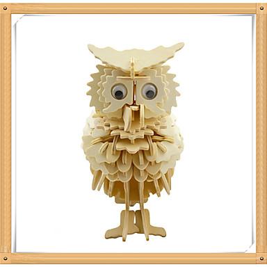 voordelige 3D-puzzels-3D-puzzels Legpuzzel Modelbouwsets Eend Eagle Uil Dieren DHZ Puinen Kinderen Speeltjes Geschenk