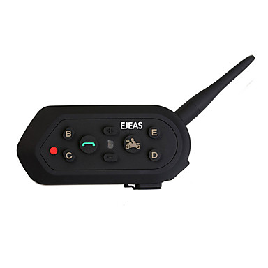 billige Motorsykkel & ATV tilbehør-Motorsykkel V4.2 Bluetooth Hodetelefoner Bil håndfri mp3 spiller