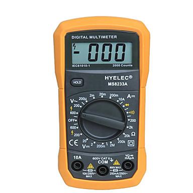 MS8233A Mini Digital Multimeter 2000 Counts Display