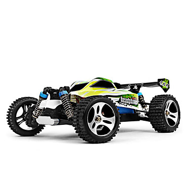 RC Car WLtoys A959-B 2.4G Buggy (Off-road) / Off Road Car / Racing Car 1:18 Brush Electric 70 km/h Remote Control / RC / Rechargeable / Electric