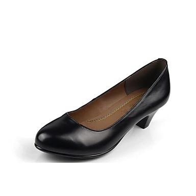 Mujer Zapatos PU Verano Talón Descubierto Zuecos y pantuflas Paseo Tacón Cubano Dedo Puntiagudo Pajarita / Purpurina Negro / Plata pYq4UoFKeu