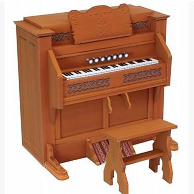 levne 3D puzzle-3D puzzle / Papírové modely / Modele Piano / Hudební nástroje Udělej si sám / Nábytek / Simulace lepenkový papír Klasické Dětské Unisex Dárek