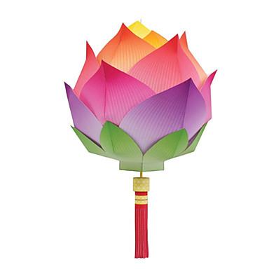 levne 3D puzzle-3D puzzle Papírové modely Modele Lucerna Udělej si sám Klasické Unisex Hračky Dárek
