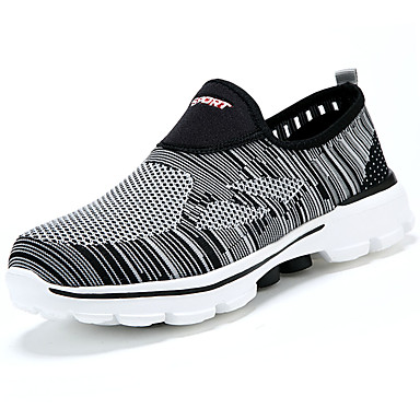 Hombre Zapatos Tela / Tul Verano Confort Sandalias Negro cdUZny