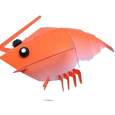 levne 3D puzzle-Halloweenské masky Papírové modely Modele Výroba z papíru lepenkový papír Klasické Udělej si sám Krab Jídlo a nápoje Dětské Unisex