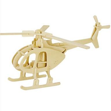 levne 3D puzzle-Robotime 3D puzzle Puzzle Dřevěný model Letadlo Lev Udělej si sám Dřevěný Přírodní dřevo Dětské Unisex Hračky Dárek