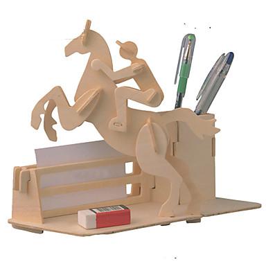 levne 3D puzzle-3D puzzle Puzzle Modele Nábytek Kůň Udělej si sám Dřevěný Klasické Dětské Unisex Hračky Dárek