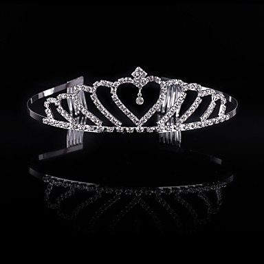 cheap Party Accessories-Crystal / Rhinestone / Alloy Tiaras / Headwear with Floral 1pc Wedding / Special Occasion / Party / Evening Headpiece
