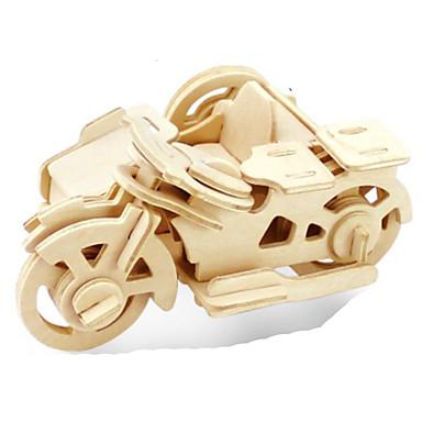 voordelige 3D-puzzels-3D-puzzels Legpuzzel Metalen puzzels Houten modellen Modelbouwsets Moto DHZ Hout Natuurlijk Hout Klassiek Kinderen Volwassenen Unisex