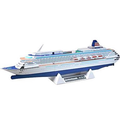 voordelige 3D-puzzels-3D-puzzels Bouwplaat Modelbouwsets Schip Hard Kaart Paper Kinderen Unisex Jongens Speeltjes Geschenk