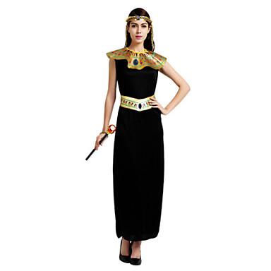 Costumi antico Egitto Queen Cosplay Costumi Cosplay Vestito da Serata  Elegante Per donna Halloween Carnevale Feste   vacanze Elastene Chinlon  Completi Nero ... bfd74576357
