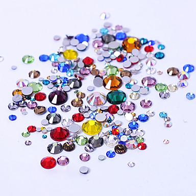 levne Nové přílety pro nehty-300 pcs Ozdoby na nehty nail art manikúra pedikúra Denní Módní / Nehtové šperky