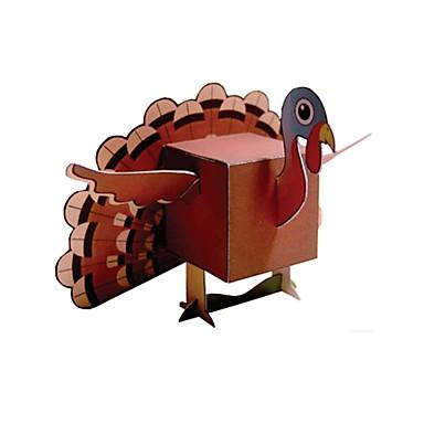 levne 3D puzzle-3D puzzle Papírové modely Modele Koře Udělej si sám Klasické Dětské Unisex Hračky Dárek