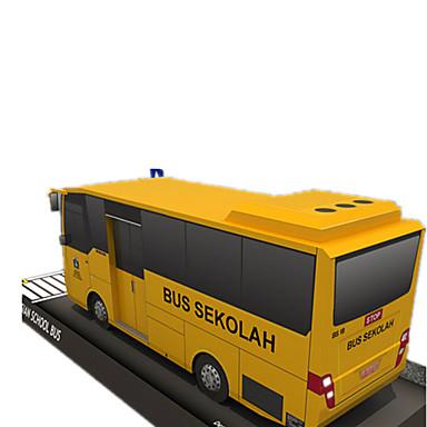 voordelige 3D-puzzels-3D-puzzels Bouwplaat Papierkunst Bus DHZ Simulatie Hard Kaart Paper Klassiek Kinderen Unisex Jongens Speeltjes Geschenk