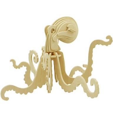 levne 3D puzzle-3D puzzle Puzzle Dřevěný model Udělej si sám Dřevěný Přírodní dřevo Dětské Unisex Hračky Dárek