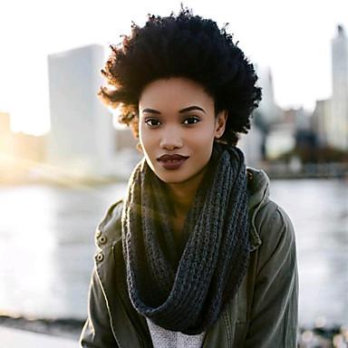 povoljno Ekstenzije za kosu-Kosa koja se plete Kovrčav afro Afro Kinky Pletenice Ekstenzije od ljudske kose 100% kanekalon kose Kanekalon 10 korijena / pakiranja Sušilo za pletenice Dnevno