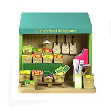 voordelige 3D-puzzels-3D-puzzels Bouwplaat Modelbouwsets Fruit DHZ Hard Kaart Paper Klassiek Kinderen Unisex Speeltjes Geschenk