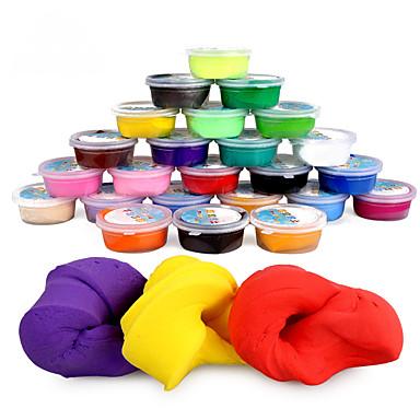 levne Kreslení hračky-Barevný sliz Hrajte těsto, plastin a tmel Udělej si sám Klasické Dětské Hračky Dárek