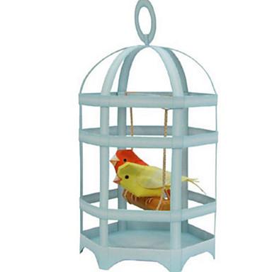 voordelige 3D-puzzels-3D-puzzels Bouwplaat Modelbouwsets Vogel Parrot DHZ Simulatie Klassiek Kinderen Heren Speeltjes Geschenk