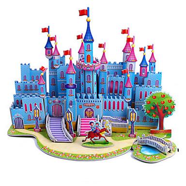 levne 3D puzzle-3D puzzle Puzzle Modele Hrad Slavné stavby Udělej si sám lepenkový papír Klasické Anime Animák Dětské Unisex Hračky Dárek