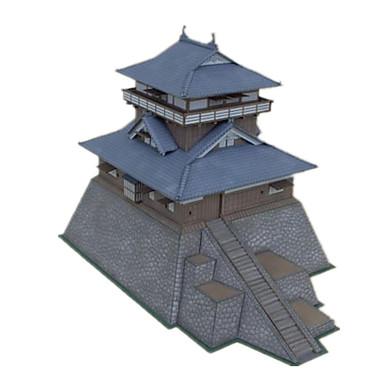 levne 3D puzzle-3D puzzle Papírové modely Modele Hrad Slavné stavby Čínské stavby Udělej si sám Klasické Unisex Hračky Dárek