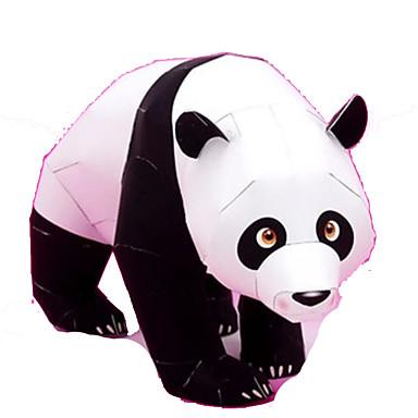 voordelige 3D-puzzels-3D-puzzels Bouwplaat Modelbouwsets Beer Panda Dieren DHZ Hard Kaart Paper Klassiek Kinderen Unisex Speeltjes Geschenk