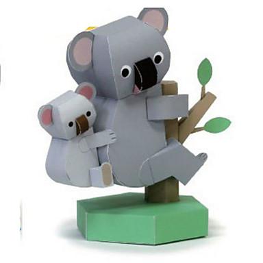 levne 3D puzzle-3D puzzle Papírové modely Modele Tučňák Medvěd Udělej si sám Klasické Dětské Unisex Hračky Dárek