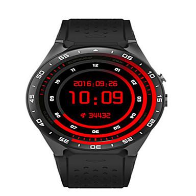 levne Pánské-Pánské Inteligentní hodinky Digitální Silikon Černá / Bílá / Červená Digitální Bílá Černá Červená