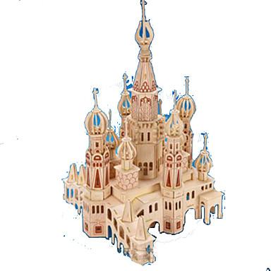 levne 3D puzzle-3D puzzle Puzzle Modele Hrad Slavné stavby Dřevěný Přírodní dřevo Dospělé Unisex Hračky Dárek
