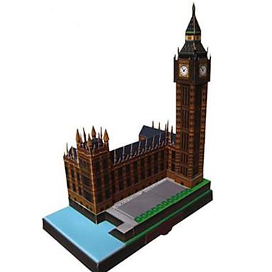 voordelige 3D-puzzels-3D-puzzels Bouwplaat Modelbouwsets Beroemd gebouw Klok Big Ben DHZ Klassiek Unisex Speeltjes Geschenk