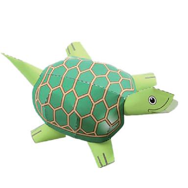 levne 3D puzzle-3D puzzle Papírové modely Modele Želvovina Zvířata Udělej si sám Klasické Dětské Unisex Hračky Dárek