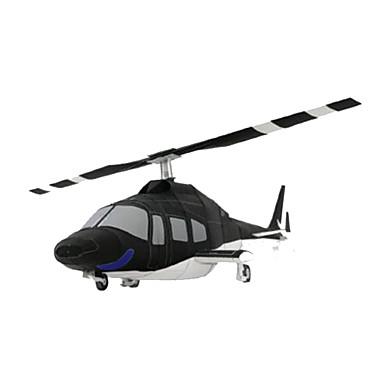 voordelige 3D-puzzels-3D-puzzels Bouwplaat Modelbouwsets Vliegtuig Helikopter DHZ Hard Kaart Paper Klassiek Helikopter Kinderen Unisex Jongens Speeltjes Geschenk