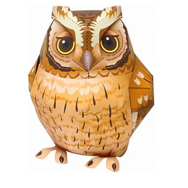 levne 3D puzzle-3D puzzle Puzzle Modele Ptáček Eagle Sova Zvířata Udělej si sám Klasické Animák Dětské Unisex Hračky Dárek