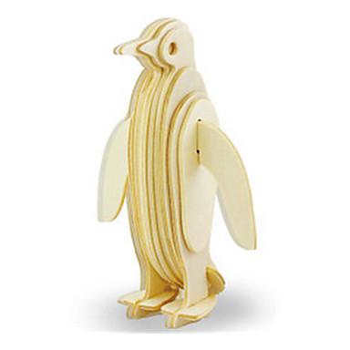 levne 3D puzzle-3D puzzle Puzzle Dřevěný model Tučňák Dinosaurus Letadlo Udělej si sám Dřevěný Klasické Dětské Unisex Hračky Dárek