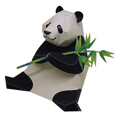 voordelige 3D-puzzels-3D-puzzels Bouwplaat Modelbouwsets Beer Panda Dieren DHZ Simulatie Klassiek Kinderen Unisex Speeltjes Geschenk