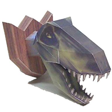 levne 3D puzzle-3D puzzle Papírové modely Modele Tyrannosaurus Dinosaurus Udělej si sám Simulace Klasické Dětské Unisex Chlapecké Hračky Dárek