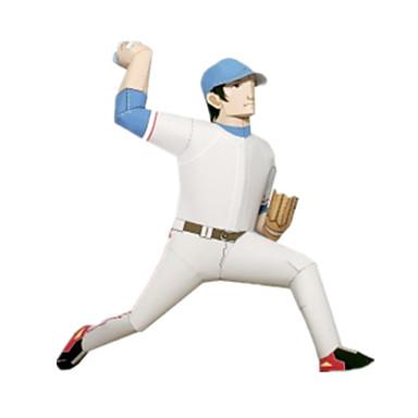 levne 3D puzzle-3D puzzle Míčky Papírové modely Sporty Golf Udělej si sám lepenkový papír Klasické Dětské Unisex Chlapecké Hračky Dárek
