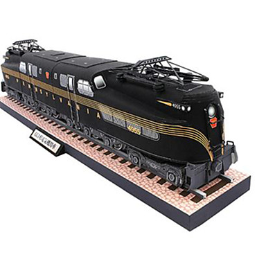 voordelige 3D-puzzels-Speelgoedauto's 3D-puzzels Bouwplaat Trein DHZ Hard Kaart Paper Klassiek Trein Kinderen Unisex Jongens Speeltjes Geschenk