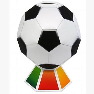 levne 3D puzzle-3D puzzle Míčky Papírové modely Fotbal Udělej si sám Klasické Dětské Pánské Hračky Dárek