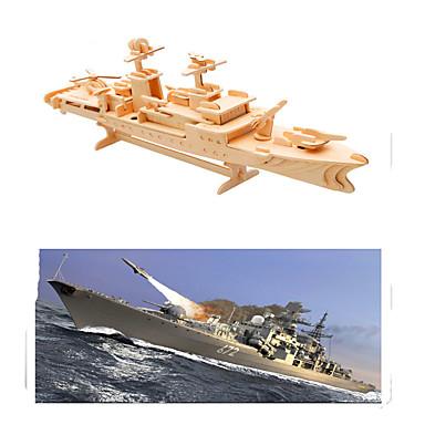 levne 3D puzzle-3D puzzle / Puzzle / Modele Válečná loď / Letadlo Udělej si sám Dřevěný Letadlo Dětské Unisex Dárek