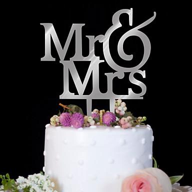povoljno Figure za tortu-Figure za torte Rođendan Vjenčanje Visoka kvaliteta plastika Rođendan Party/večernja odjeća s 1 PVC vrećica
