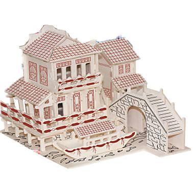voordelige 3D-puzzels-3D-puzzels Legpuzzel Modelbouwsets Beroemd gebouw Chinese architectuur DHZ Simulatie Puinen Klassiek Chinese stijl Unisex Jongens Meisjes Speeltjes Geschenk