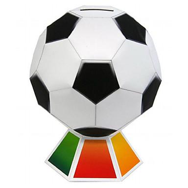 voordelige 3D-puzzels-3D-puzzels Ballen Bouwplaat Voetbal DHZ Klassiek Kinderen Unisex Speeltjes Geschenk