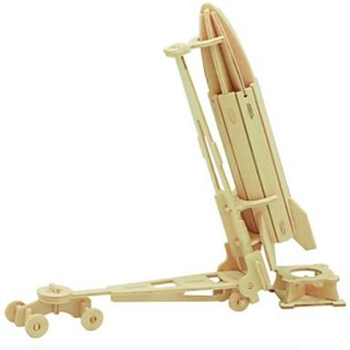 levne 3D puzzle-3D puzzle Puzzle Dřevěný model Vozík Udělej si sám Dřevěný Přírodní dřevo Dětské Unisex Hračky Dárek