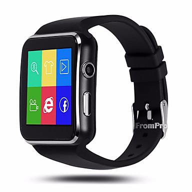 YYX6 ผู้ชาย ดูสมาร์ท Android iOS บลูทูธ GPS กีฬา ขอสัมผัส เผาผลาญแคลอรี่ โหมดสแตนบายยาว ติดตามการทำกิจกรรม ติดตามการนอนหลับ การแจ้งเตือนอยู่ประจำ ค้นหาอุปกรณ์ การแจ้งเตือนการออกกำลังกาย / iPhone