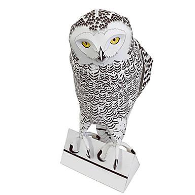 levne 3D puzzle-3D puzzle Papírové modely Modele Ptáček Eagle Sova Zvířata Udělej si sám Simulace lepenkový papír Klasické Dětské Unisex Chlapecké Hračky Dárek
