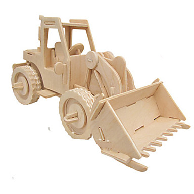 levne 3D puzzle-3D puzzle Puzzle Dřevěný model Auto Udělej si sám Simulace Dřevěný Klasické Stavební stroj Dětské Dospělé Unisex Chlapecké Dívčí Hračky Dárek