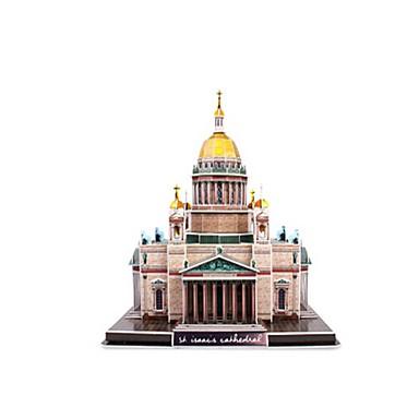 levne 3D puzzle-3D puzzle Puzzle Modele Slavné stavby Kostel Katedrála EPS+EPU ruština Unisex Hračky Dárek